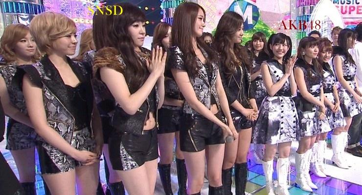 AKB48 SNSD